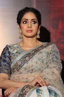 Sri Devi in designer saree stunning beauty at the launch of MOM movie Trailer~  Exclusive 037.JPG
