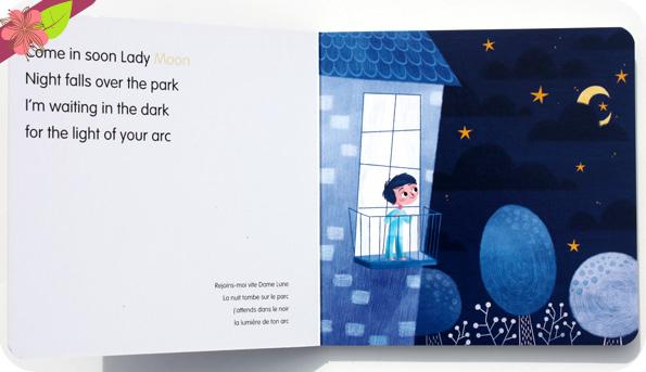 Lady Moon de Bénédicte Prats, Renn Lee et Lili la baleine - éditions Cépages