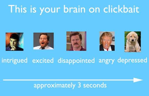 reakcja na clickbait