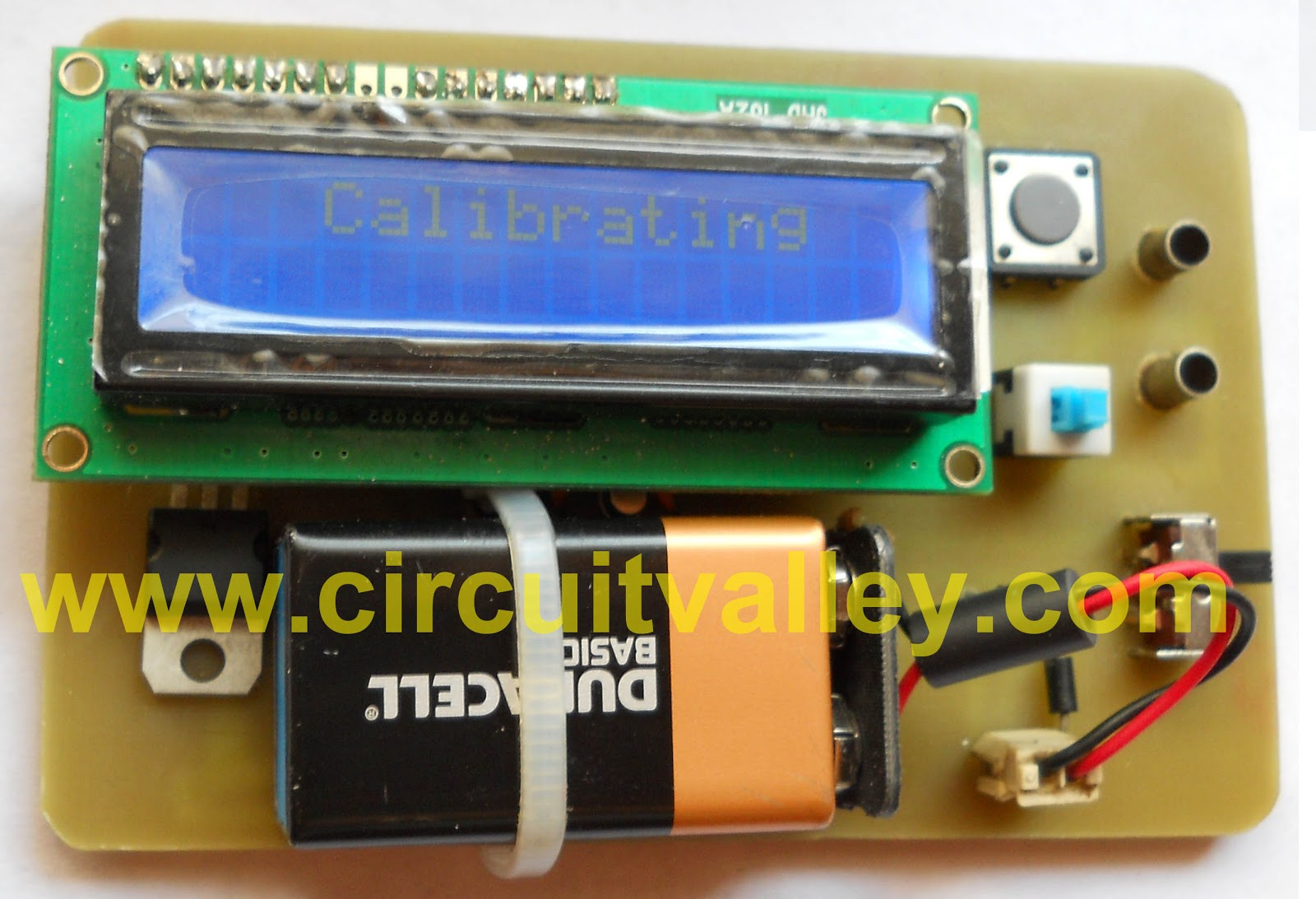 Embedded Engineering Accurate Lc Inductance Capacitance Meter Coil Circuit Diagram
