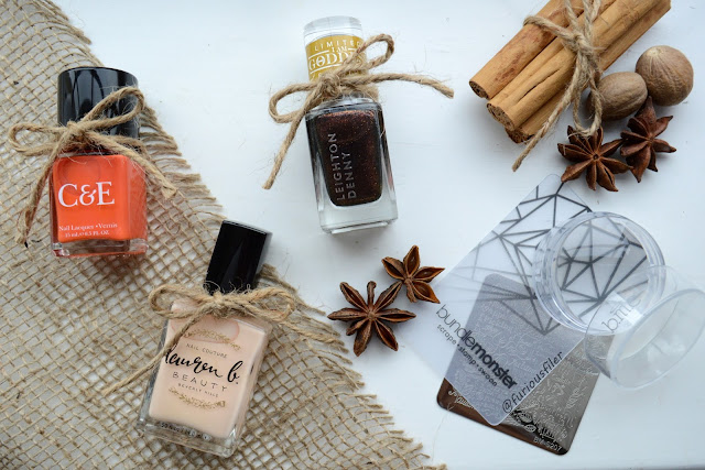 Furious filer MeeBox ambassador pumpkin spice nail subscription box