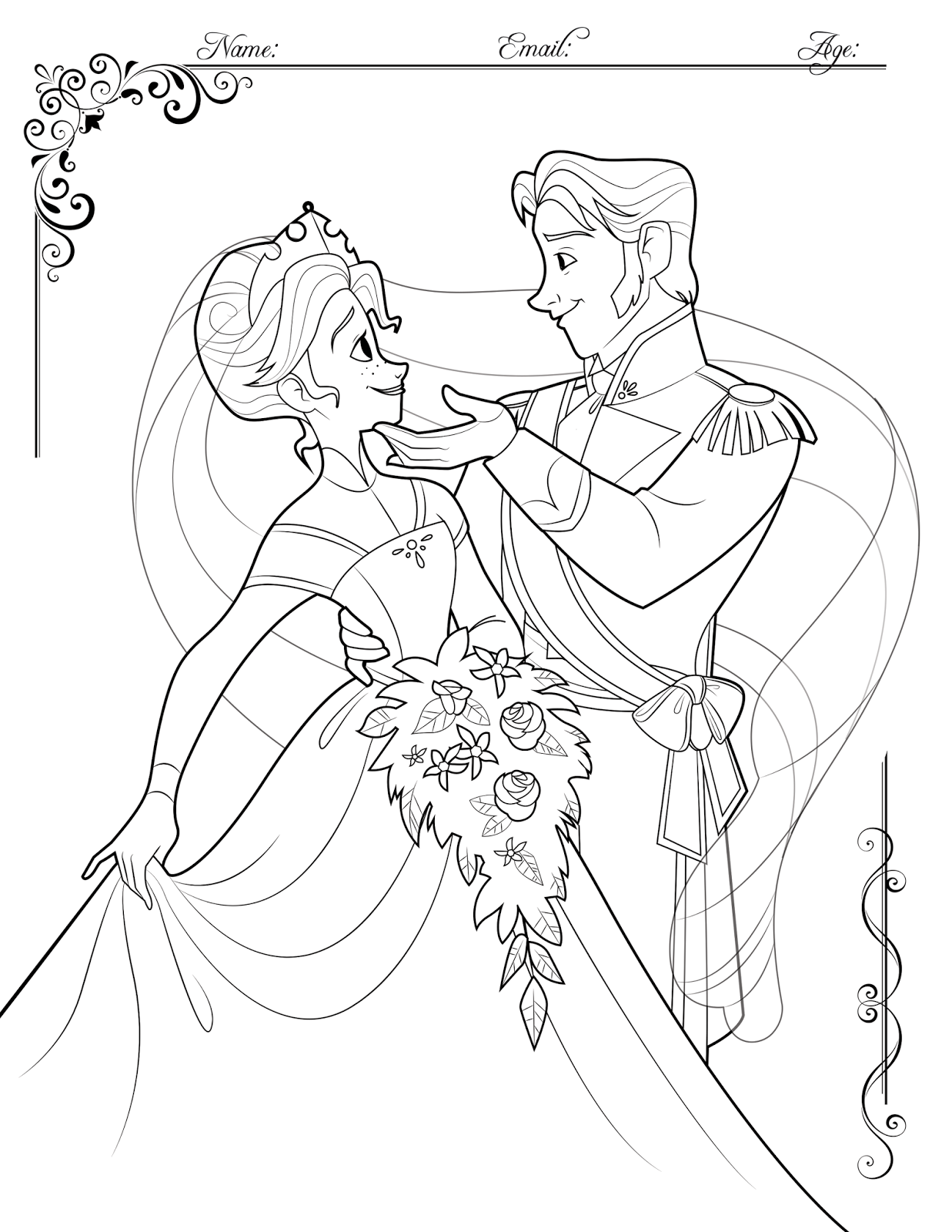 Frozen 2 Colouring Pages Disney Coloring Games