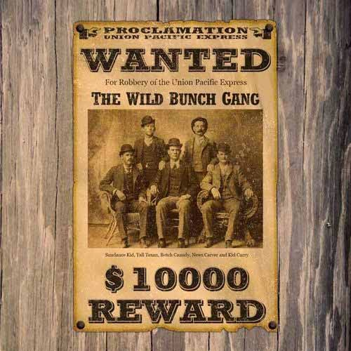 "Create a Wild Western ""Wanted"" Poster"