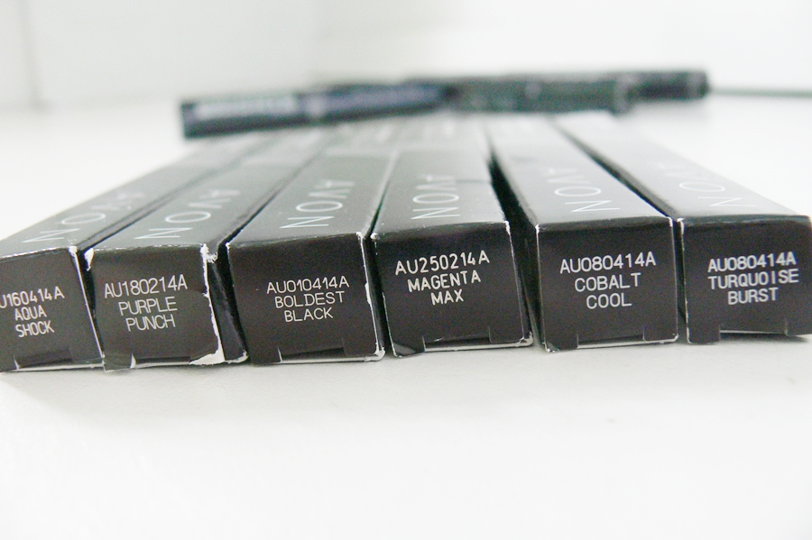Kredki do oczu Avon Glimmerstick Brights Eye Liner