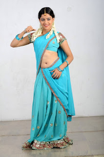 Actress Anu Upadhyaya Pictureshoot Gallery in Traditional Half Saree  0006.jpg