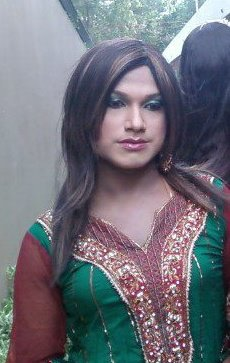 Indian Crossdresser in Salwaar Kameez