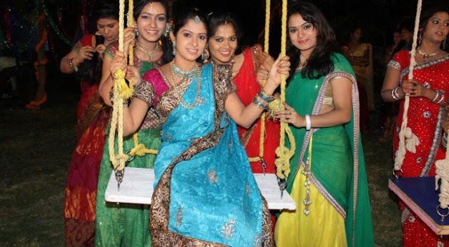 ఉయ్యాలపండగ Atla taddi Telugu Festival