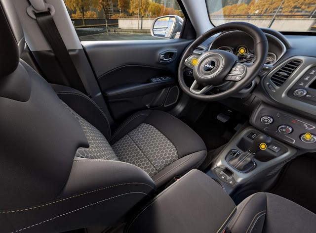 Jeep Compass Sport Flex 2017- interior