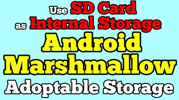 How To Format Micro SD Card and use it As Internal Storage on Android 6.0 Marshmallow