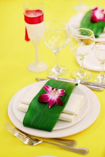 Оформление тропической свадьбы