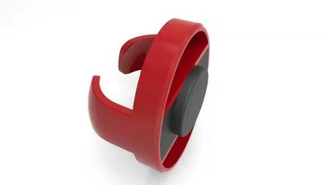 Bộ joystick lót tay chơi game màu đỏ