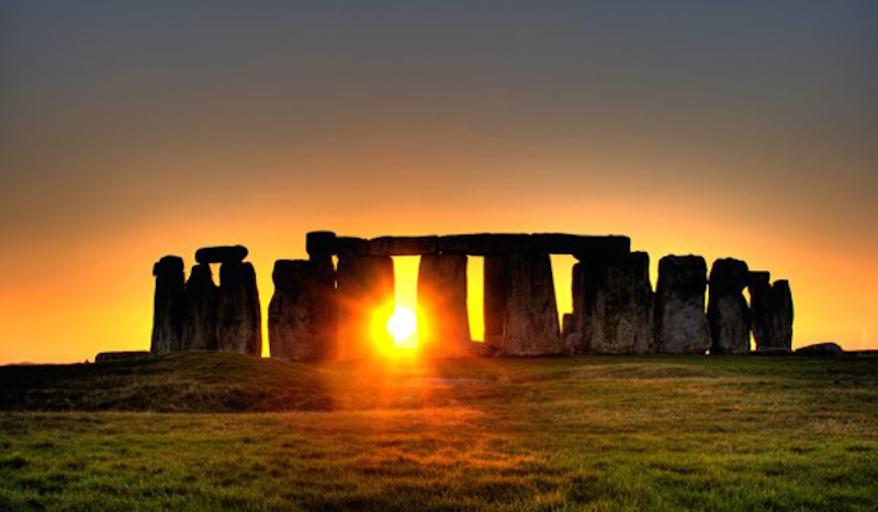 20. Stonehenge, England - 20 of The Best Places To Watch The Sunset