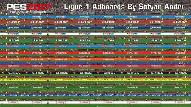 Ligue 1 Adboards PES 2017