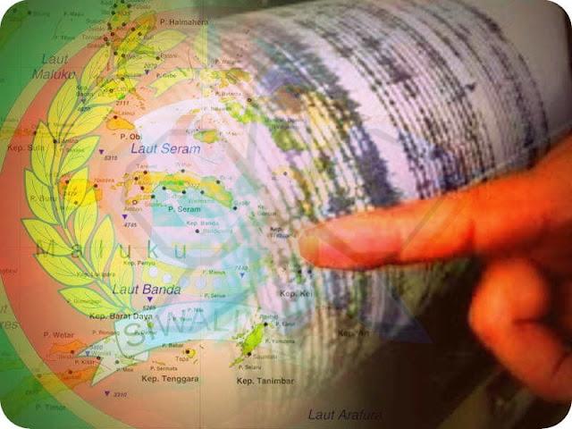 Tiga Gempa Bumi Guncang Maluku