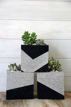 20 decoration ideas to make with concrete blocks 17