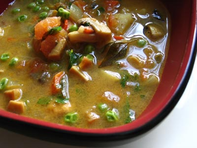 Curried Indian Vegetable Soup