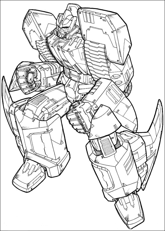 transformer coloring book pages | Transformers Coloring Pages ~ Free Printable Coloring ...