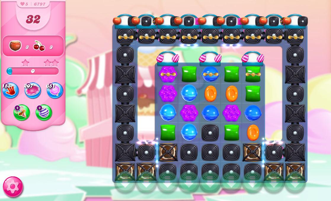 Candy Crush Saga level 6797