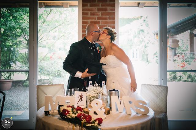 Tavolo sposi dettagli Mr & Mrs