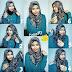 Tutorial Hijab Paris Simpel Elegan Terbaru 2016