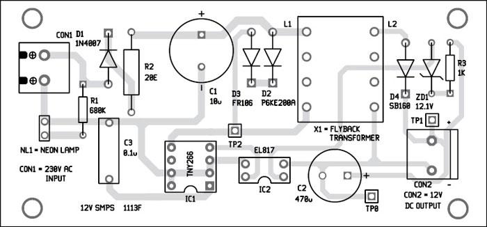 Simple smps circuit diagram pdf