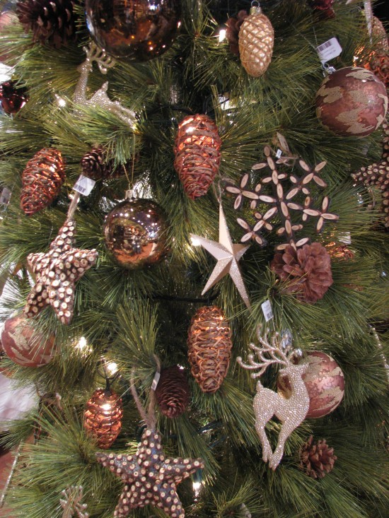 Christmas Tree Decorations Rose Gold Holliday Decorations