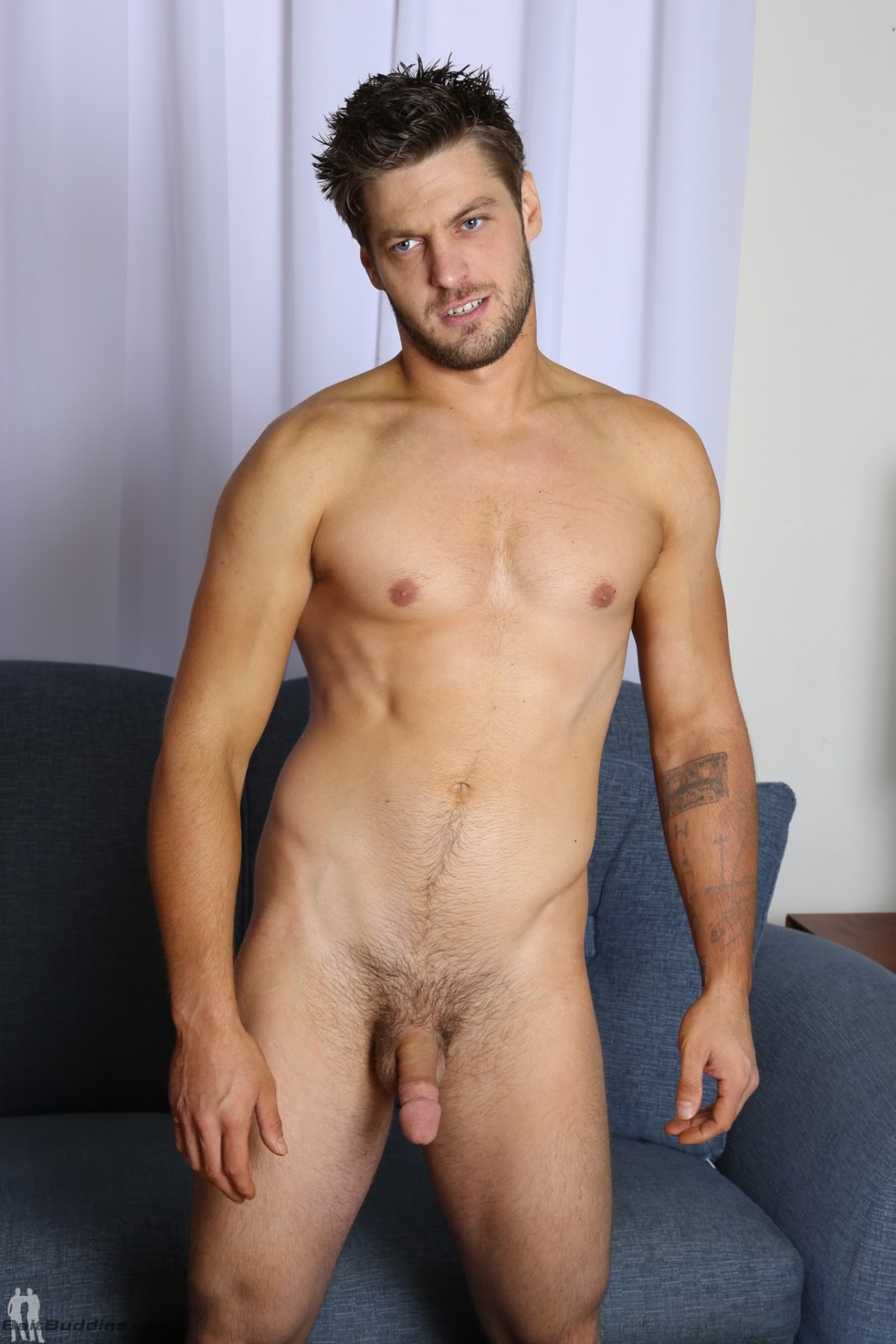 Handsome Hairy Gay
