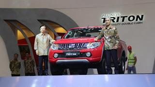 Mitsubishi bintaro on GIIAS 2015