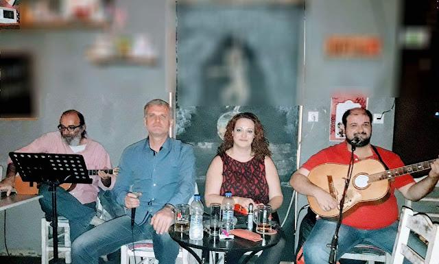 Ρεμπέτικη μουσική κάθε Κυριακή μεσημέρι στα ¨Φιλαράκια¨ στο Κουτσοπόδι