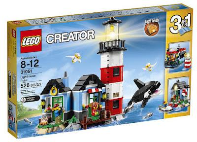 TOYS: JUGUETES - LEGO Creator  31051 Isla del Faro   Lighthouse Point  Producto Oficial 2016   Piezas: 528   Edad: 8-12 años  Comprar en Amazon España & buy Amazon USA