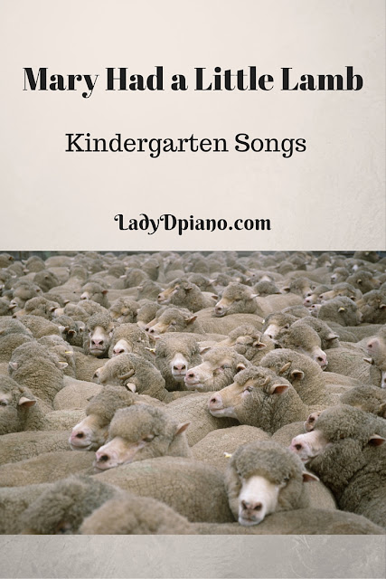 Mary Had a Little Lamb Songs for Kindergarten: Barefoot Books-LadyD