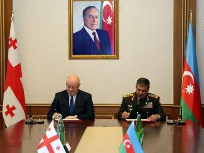 Azerbaiyán y Georgia acuerdan cooperación militar en 2018
