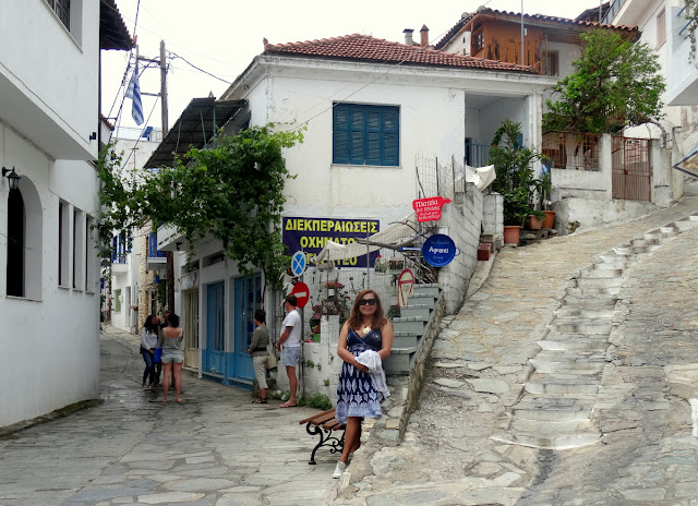 Glossa Town in Skopelos