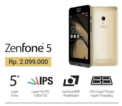 Harga Asus Zenfone Dan Spesifikasi Tebaru