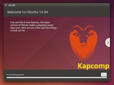Cara Instal Linux Ubuntu dengan media flashdisk