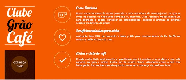 graocafe.com.br,resenha Clube do Café,café100 % Arábica