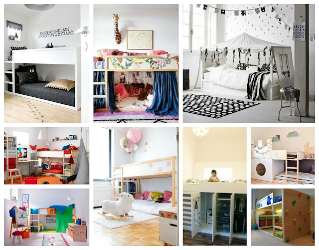 dormitorio infantil cama kura ikea hacks bedroom kids