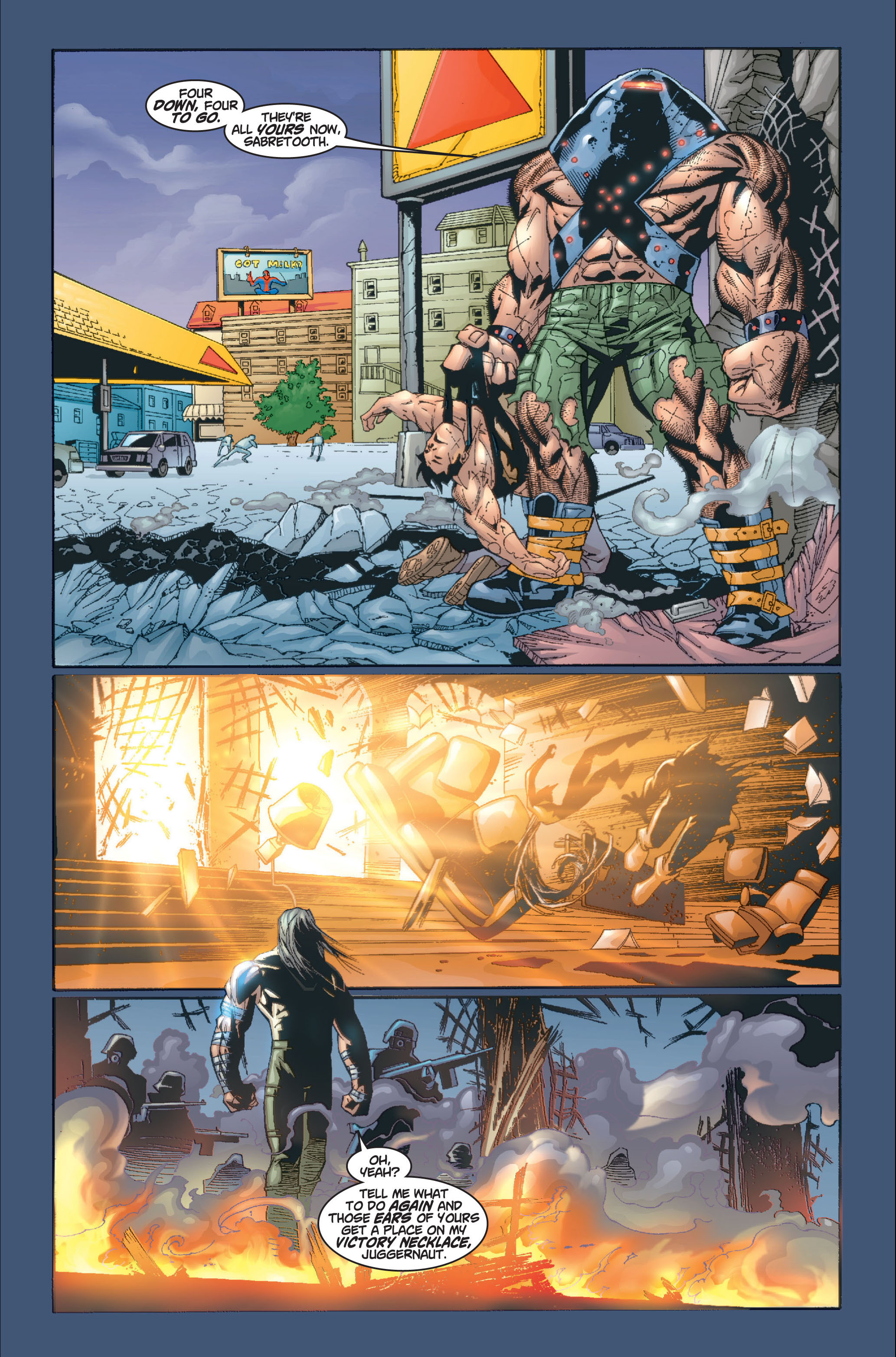 Read online Ultimate X-Men comic -  Issue #8 - 16