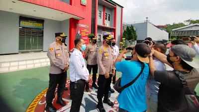 Pasca Kebakaran Lapas Tangerang, Kapolresta Tangerang Cek Rutan Jambe