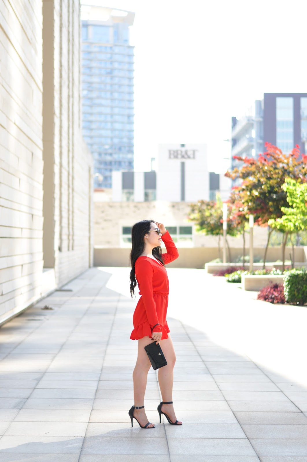 The Red Romper | The Bella Insider