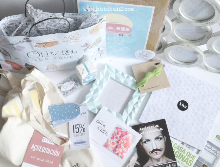 Bloggever Oviedo by Habitan2 | Olivia soaps | bolsa bienvenida con regalos Mr Wonderfull y más