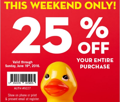 Bath & Body Works Semi-Annual Sale + 25% Off Coupon