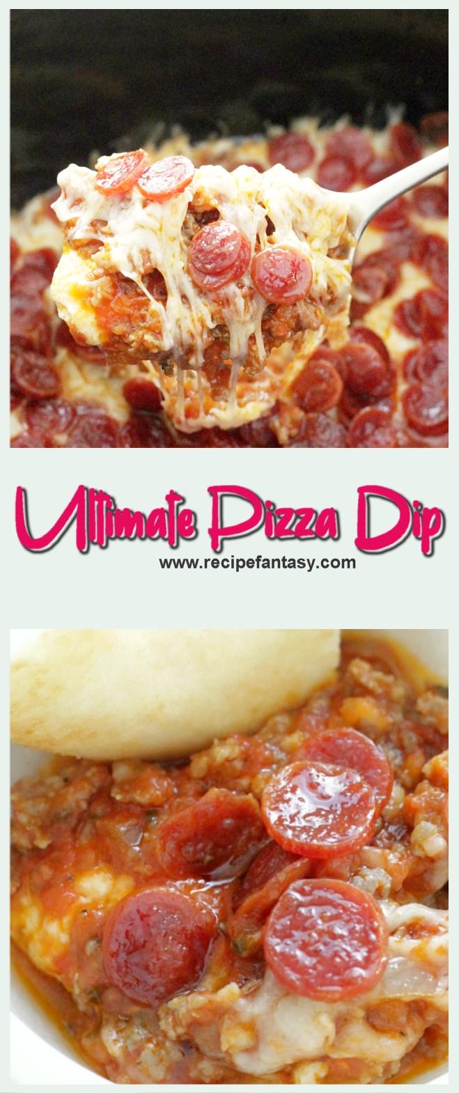 Ultimate Pizza Dip