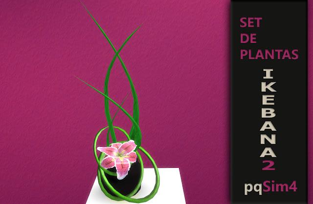 Detalle planta Ikebana numero 4.