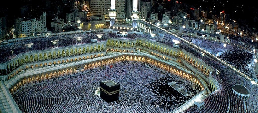 Suasana Shalat Jama'ah di Masjidil Haram