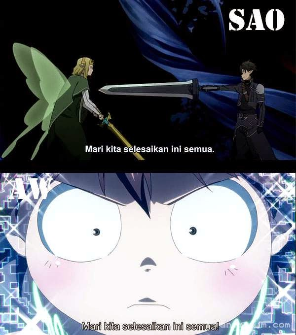 Sword Art Online X Accel World ( SAO X AW ) - lets end this once for all
