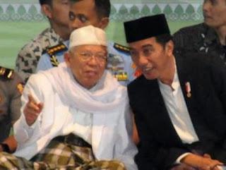 KH. Ma'ruf Amin cicit Syaikh Nawawi Al-Bantani, Mufti Masjidilharam yang berguru di Purwakarta dan melahirkan Ulama Besar Purwakarta