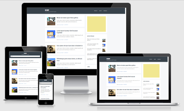 Si Edit v2 Fast Responsive Blogger Template