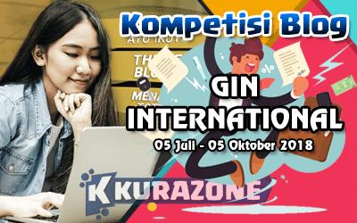 Kompetisi Blog - GIN International Berhadiah Total 22 Juta Rupiah