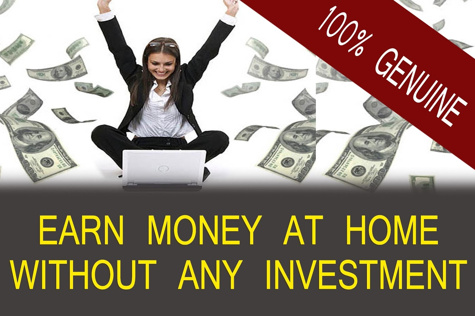 Earn unlimited money online without any investment ~ Online